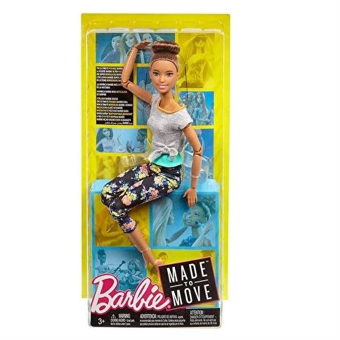 Barbie Barbie Sonsuz Hareket Bebekleri Renkli